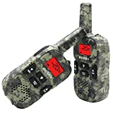 Walkie Talkies for Kids, 22 Channel Kids Walkie Talkies 2 Way Radio 2 Miles (Up to 3.7Miles) FRS/GMRS Handheld Mini Walkie Talkies for Kids(Camo)