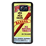 SSCase Banana Backwoods Cigar Packs Soft Plastic Protected Case for Samsung Galaxy Note 5 - Black