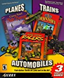Planes, Trains & Automobiles: Curse You! Red Baron / 3D Ultra Lionel Traintown / 3D Ultra Radio Control Racers - PC by Vivendi Universal