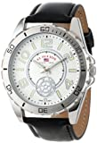 U.S. Polo Assn. Men's Dial Strap Watch Silver US5159