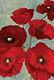 Toland Home Garden 119872 Red Painted Poppies Garden Flag