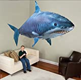 Lovebaby Air Swimmer Remote Control Flying Shark Inflatable Great White Shark
