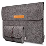 "Inateck MP1300 - Funda blanda para ordenador portátil Apple MacBook Pro Retina 13.3"", color gris oscuro"