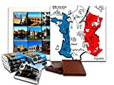 DA CHOCOLATE Cute Candy FRANCE Chocolate Gift Set 5x5in 1 box (France)
