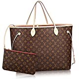 Authentic Louis Vuitton Neverfull GM Monogram Canvas Cherry Handbag Article:M41179