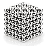 Dadeta, Magnetic Ball, Magnetic Sculpture Toys for Intelligence Development and Stress Relief (5MM 216 Magnetic Balls)