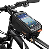 "Ibera Top Tube Bag for 6"" Cell Phone Screens"