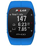 Polar M400 GPS Running Sports Watch  With Heart Rate Monitor (Blue)