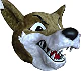 Wolf Fursuit Head Mascot Costume Adult Animal Head Costume / Delivery Time 3 to 4 Weeks