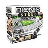 Bionic Steel Rust-Proof Metal Home Garden Hose (50 Feet)