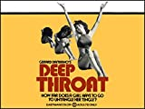 Deep Throat Fridge Magnet Linda Lovelace Classic Porn Movie Poster Canvas Print 6 x 8