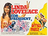"Linda Lovelace for President The Office Party Combo Movie Poster Replica 11 X 14"" Photo Print"