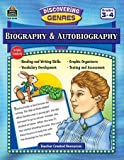 Discovering Genres: Biography & Autobiography by Teacher Created Resources