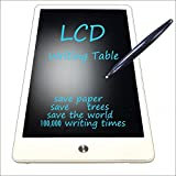 10in LCD Writing Tablet NYWT100 Kids Drawing board Electronic Graphic Drawing Tablet (White)