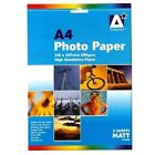 PHOTO PAPER - Printer Gloss Matt Everyday Home Office School Supplies {Anker}