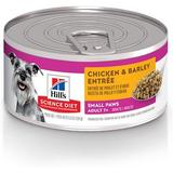 Hill's Science Diet Adult 7+ Small & Toy Breed Chicken & Barley Entree Canned Dog Food, 5.8-oz, 24ct
