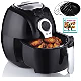 avalon bay air fryer for healthy fried food 37 quart capacity includes airfryer - Think Kitchen Air Fryer