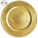 Gold Charger Plates Bulk Sale | Up to 70% Off | Best Deals Today